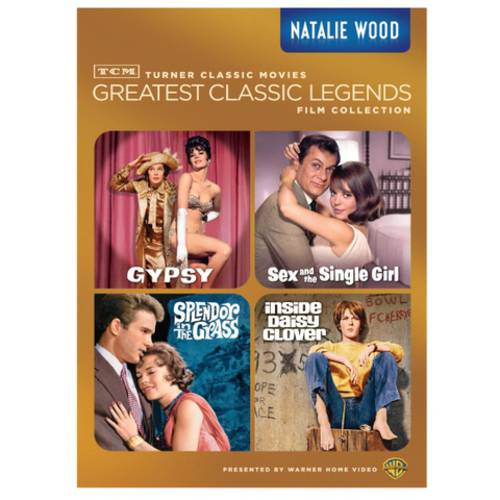TCM Greatest Classic Legends: Natalie Wood - Gypsy / Sex And The Single Girl / Splendor In The Grass / Inside Daisy Clover