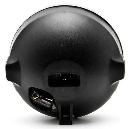 Krator 7.75'' Chrome Headlight H4 Bulb Round Lamp for Victory V92C V92SC V92TC Deluxe Classic - image 2 de 6