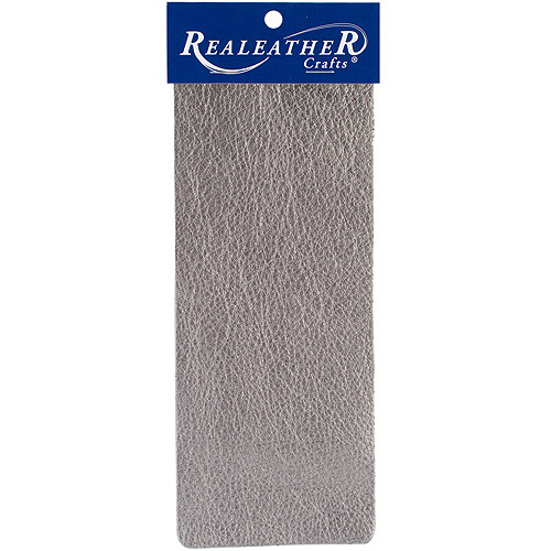 Realeather Metallic Leather Trim Pieces