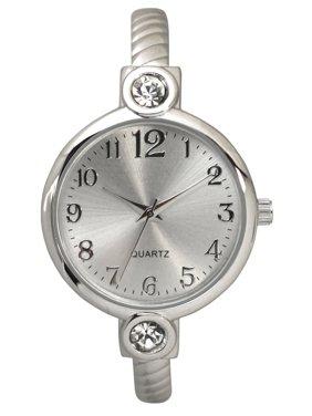 1085e970383 Product Image Women s Petite Dainty Rhinestone Bangle Watch One Size