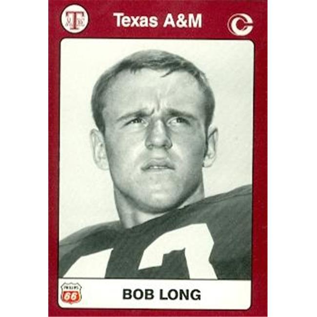 Bob Long Football Card (Texas A&M) 1991 Collegiate Collection No.71