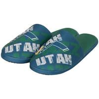 Utah Jazz Digital Print Slippers - Navy
