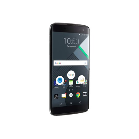 BlackBerry BBA100-1 32GB Unlocked GSM 4G LTE Quad-Core Android Phone w/ 21MP Camera - Earth Silver ()