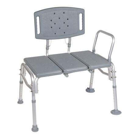 Fantastic Drive Medical Heavy Duty Bariatric Plastic Seat Transfer Bench Dailytribune Chair Design For Home Dailytribuneorg