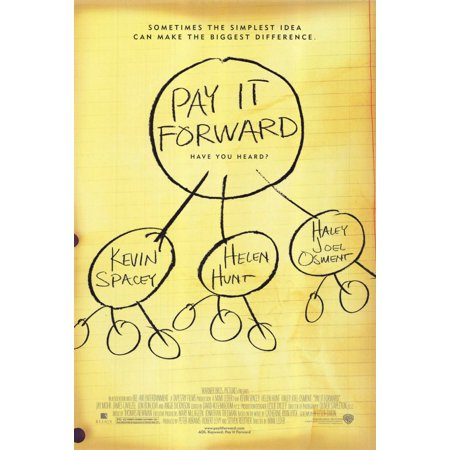 Pay It Forward  2000  11X17 Movie Poster