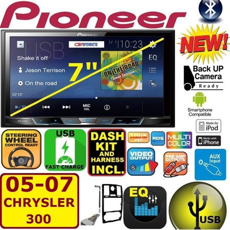 05 06 07 CHRYSLER 300 PIONEER BLUETOOTH TOUCHSCREEN USB AUX BT CAR Radio (Pioneer Djm 300)