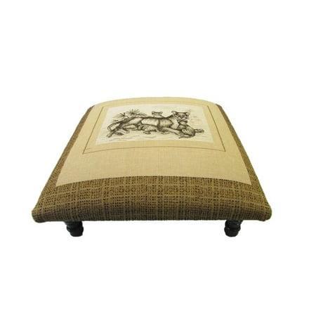 Prime Corona Decor Safari Lion Design Footstool Ottoman Walmart Com Beatyapartments Chair Design Images Beatyapartmentscom
