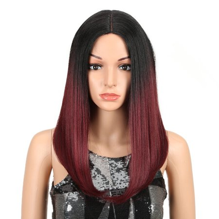 Noble Ombre Color Straight Hair 18