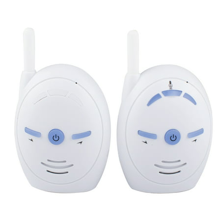 Wireless Audio Baby Monitor, Audio Walkie Talkie Baby Phone Alarm Kids Radio Intercoms Nanny Babysitter with Battery and Electricity (No Include 3 AAA Battery)