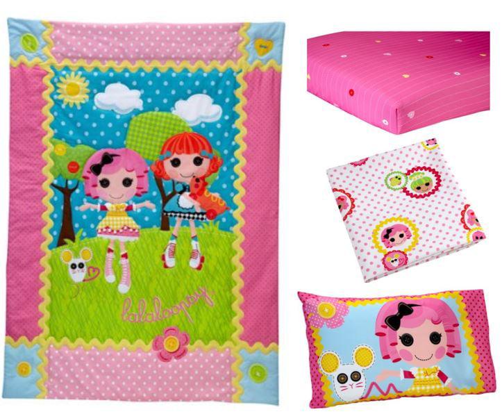 Lalaloopsy Sew Cute 4-Piece Toddler Bed Set - Walmart.com ...