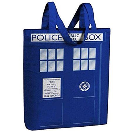 Check Small Tote - Underground Toys UGT-DW01133-C Doctor Who Small Tote Bag: I Am TARDIS