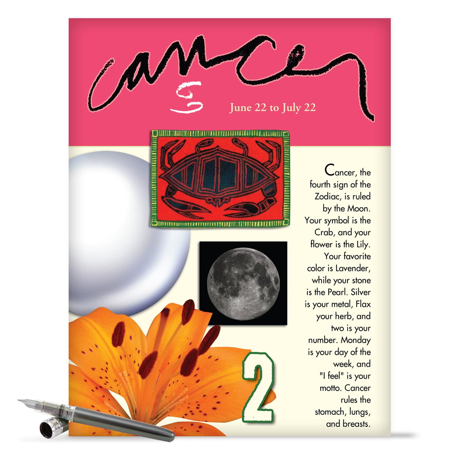 J9445 Jumbo Hilarious Birthday Greeting Card Cancer With Envelope
