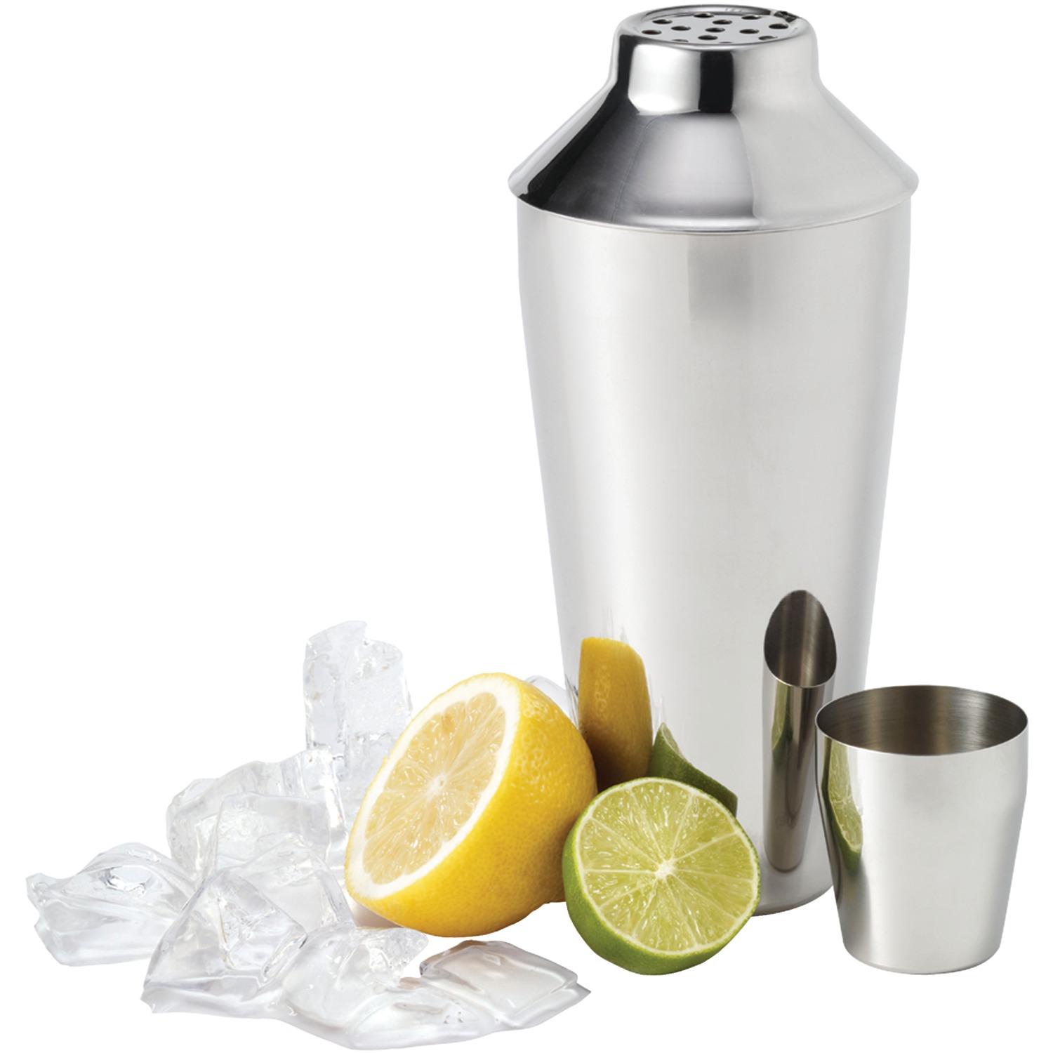 Starfrit 818549021000 Gourmet Cocktail Strainer & Stainless Steel Cocktail Shaker