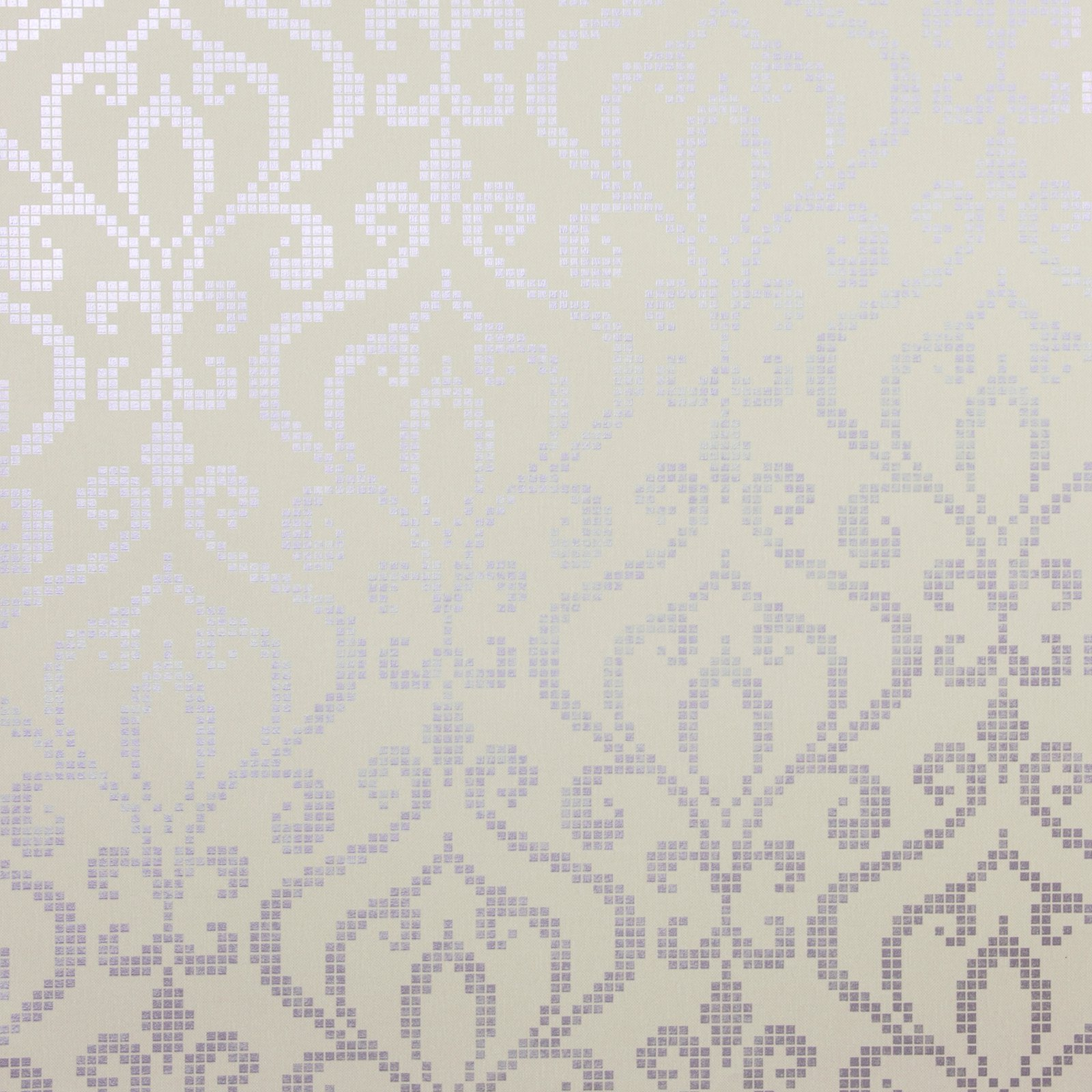 Kenneth James Venus Foil Mini Damask Wallpaper