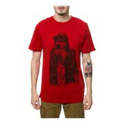 Emerica. Mens The Bones Not Bombs Graphic T-Shirt, red, Small