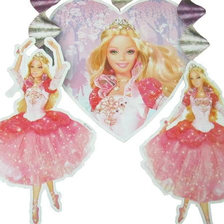 Princess Hanging - Barbie '12 Dancing Princesses' Hanging Decorations (3pc)