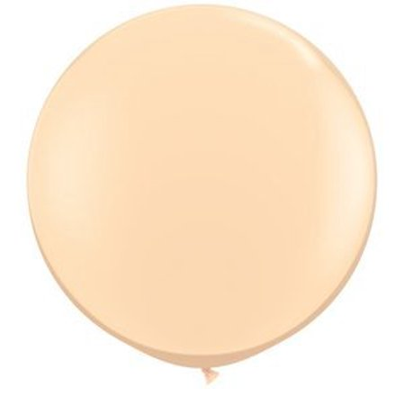 Qualatex 36 Round Latex Balloons (Blush), 2 Count
