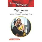 Virgin Princess's Marriage Debt (Paperback)(Large Print)