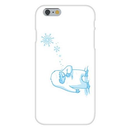 Apple iPhone 6 Custom Case White Plastic Snap On