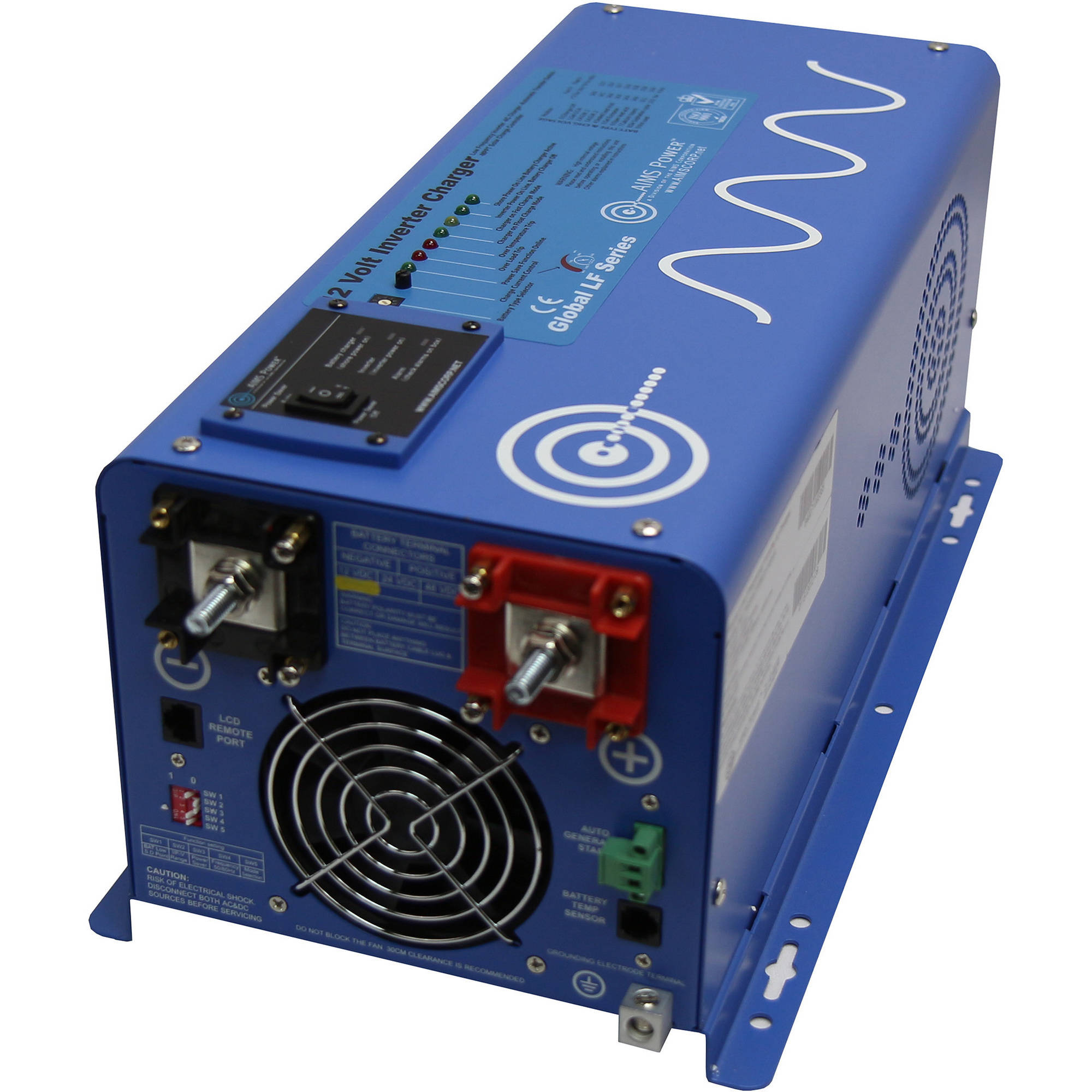 AIMS Power 3000W 12 Volt Pure Sine Inverter Charger