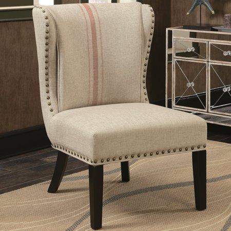 A Line Furniture Wingback Design Armless Design Accent
