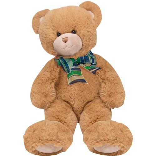 "First & Main Plush Stuffed Brown Bear, 15"" Sitting Position"