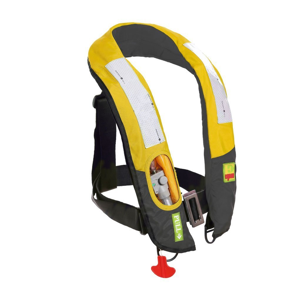 Lifesaving Pro Premium Automatic   Manual Inflatable Life Jacket PFD Life Vest Deluxe Inflate Survival Aid Lifesaving... by Lifesaving Pro