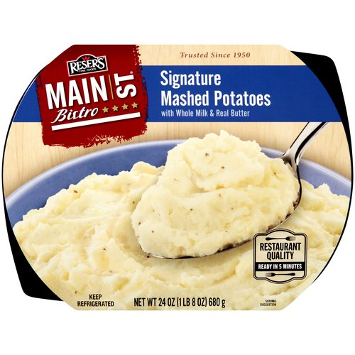 Reser's Fine Foods Main St. Bistro Signature Mashed Potatoes, 24 oz