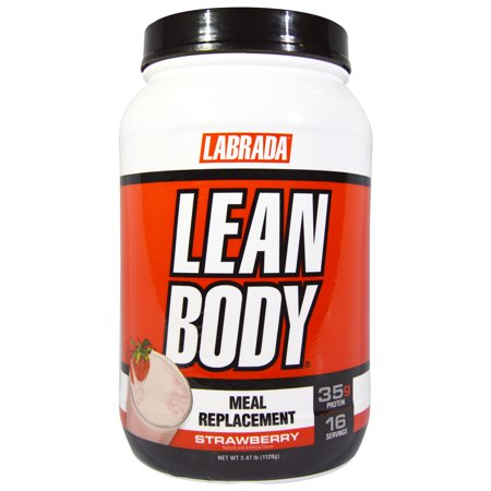Lean Body MRP Tubs-Strawberry, 2.47lb