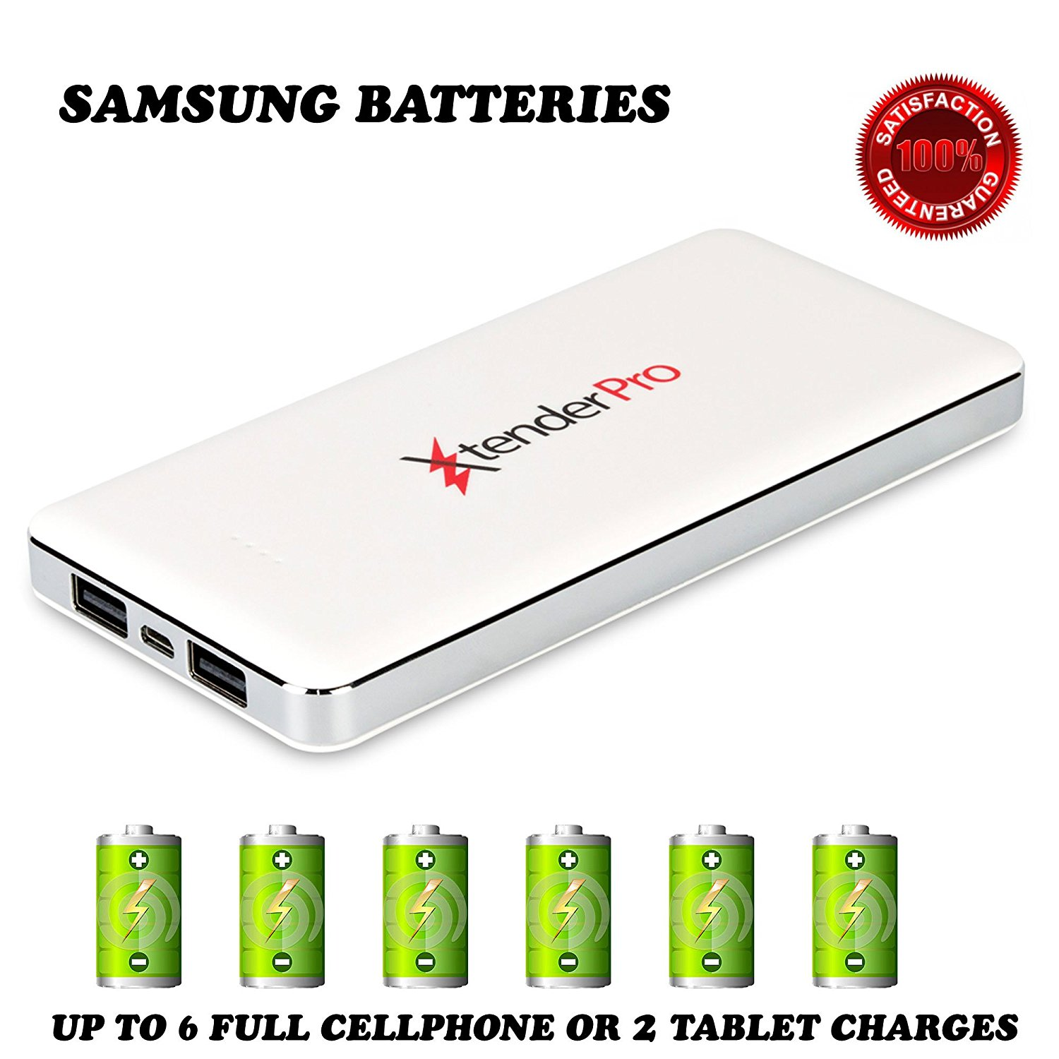 High Capacity Fast Portable Charger External Battery Powe...
