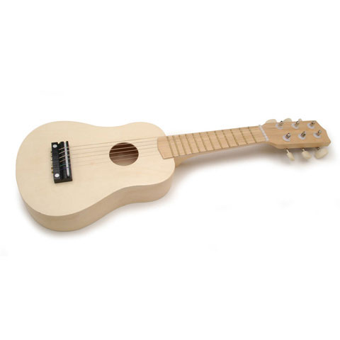 Instrument Wood Guitar Natural 20In