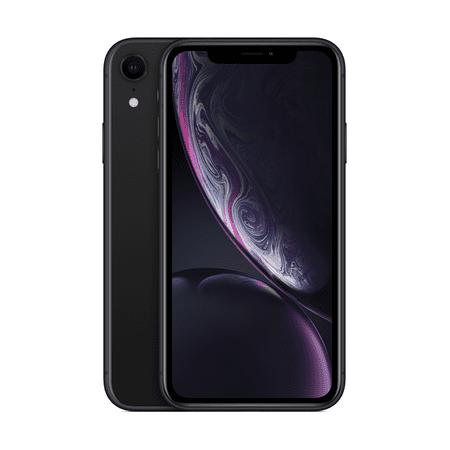 Straight Talk Apple iPhone XR, 64GB, Black - Prepaid Smartphone [Locked to Carrier - Straight Talk]
