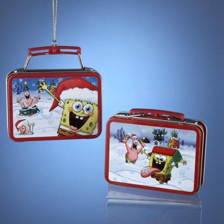Pack of 24 Spongebob Squarepants Miniature Lunch Box Christmas Ornaments - Spongebob 24