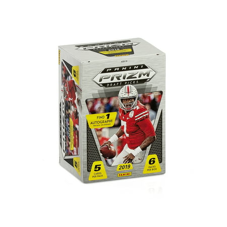 Panini Prizm Draft Picks College Football 2019 Blaster Box- 30 Trading Cards |Featuring Dwayne Haskins