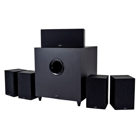 Monoprice (110565) Premium 5.1-Channel Home Theater System with Subwoofer