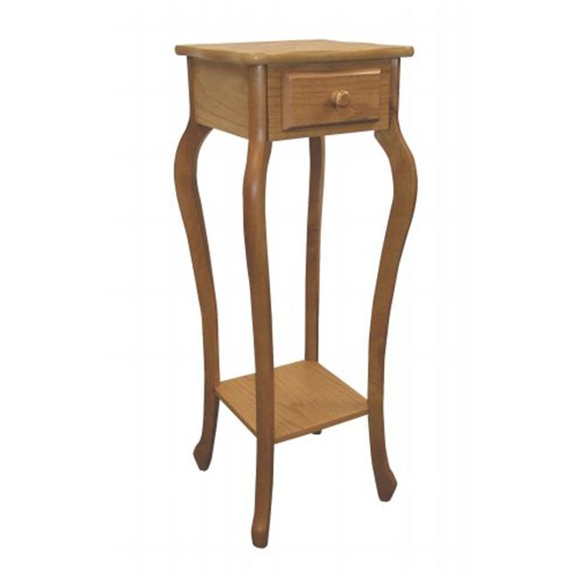 Ore International H-39 OAK Oak Plant Stand by Ore International