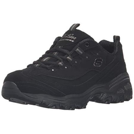 8179c3bcbbb4 Skechers - Skechers Sport Women s D Lites Memory Foam Lace-Up Sneaker -  Walmart.com