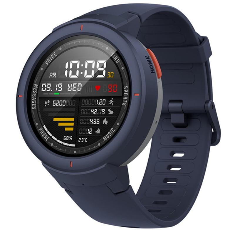 1.3 inch Amazfit Verge Multi-function Touch Screen IP68 Waterproof Smart Watch G-sensor, Heart Rate Sensor,GPS Sport Monitor,Blue
