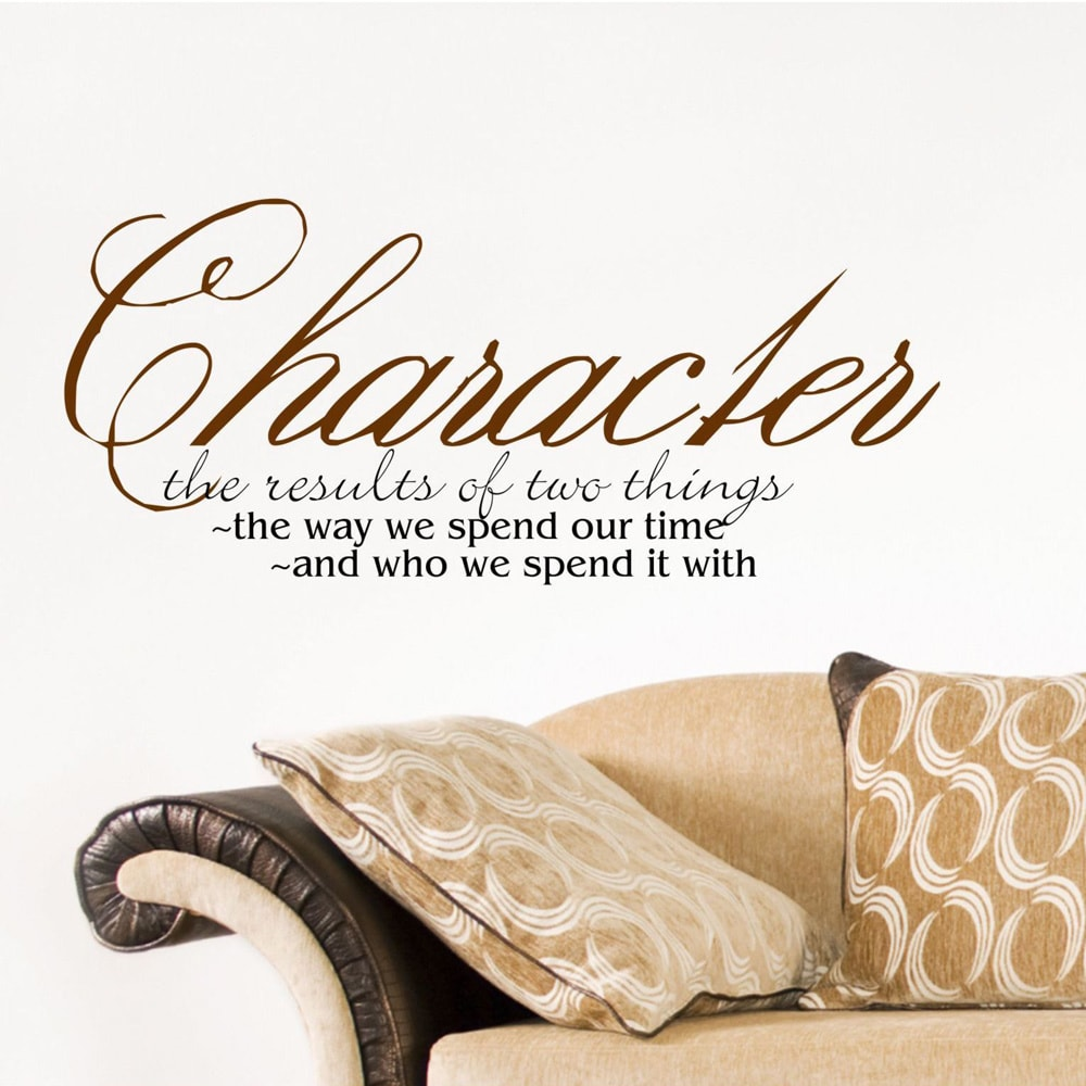 Everything Vinyl Decor Character Inspirational Vinyl Wall Art