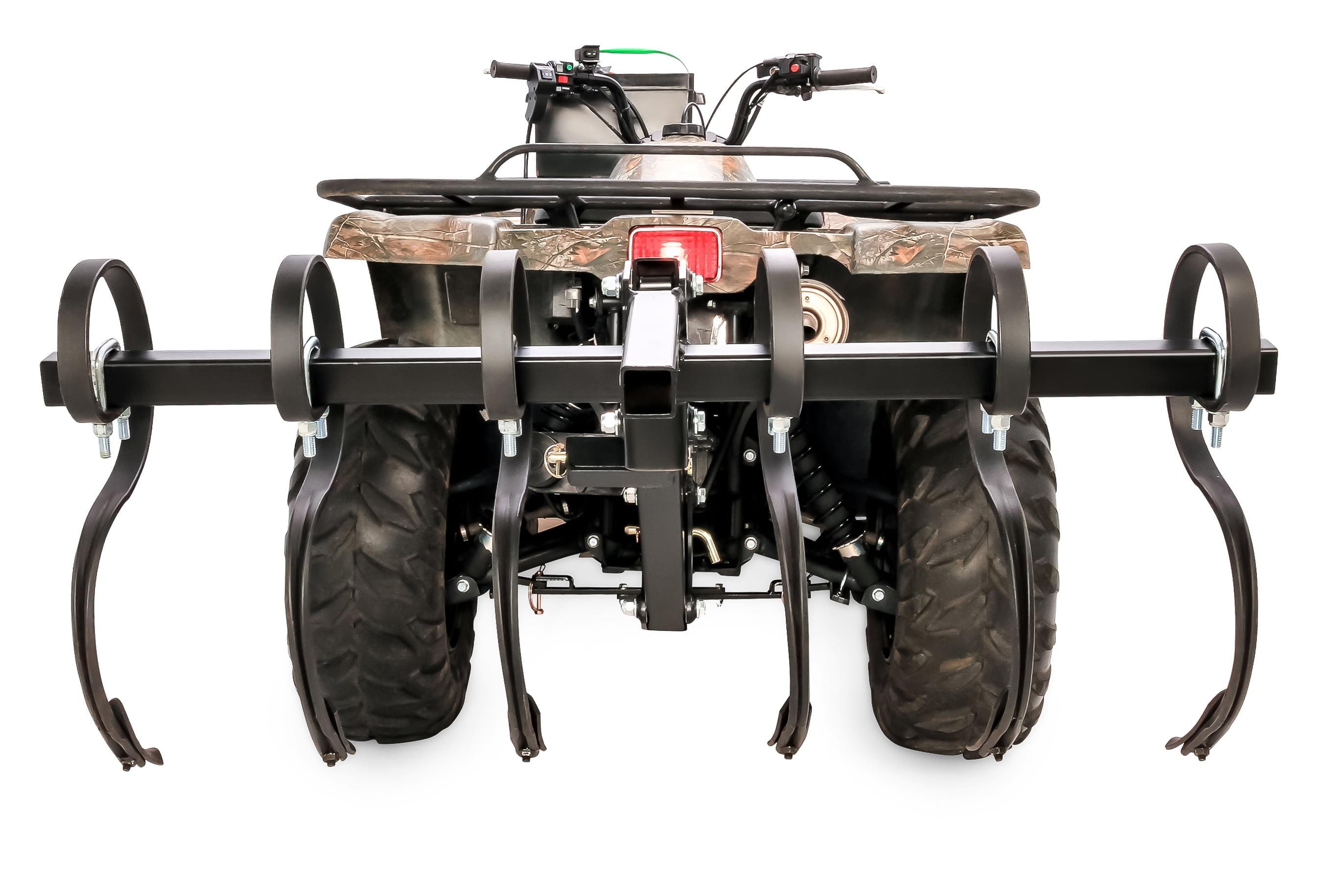 66007 for New Ground Preparation or Re-tilling Black Boar ATV//UTV S-Tine Cultivator Camco