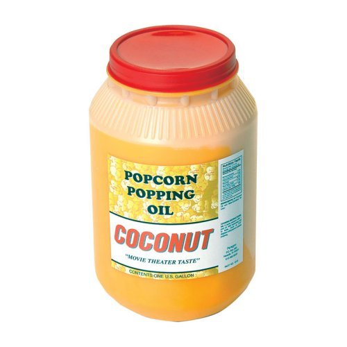 Paragon International Country Harvest 1 Gallon Coconut Popcorn Popping Oil
