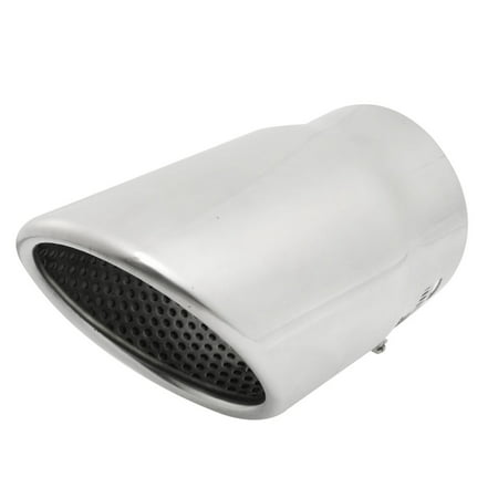 70-92mm Adjustable Clamp Stainless Steel Exhaust Tip Muffler for Automobile - image 1 of 1