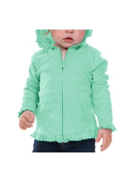 295e8398c Green Baby Girls Sweatshirts   Hoodies - Walmart.com