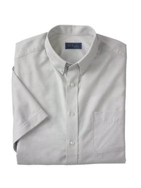 KingSize Men's Big & Tall Ks Signature Wrinkle-resistant Short-sleeve Oxford Dress Shirt