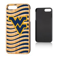 West Virginia Mountaineers iPhone Wavy Team Bamboo Case