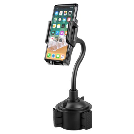 Car Phone Mount, EEEKit Universal Cell Phone Holder Car Cup Holder Mount for iPhone 11/11 Pro Xs Max R X 8 Plus Samsung Galaxy S9 S8 Edge S7 LG Sony and More
