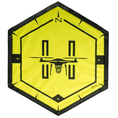 DLC Drone Landing Pad with Carrying Case