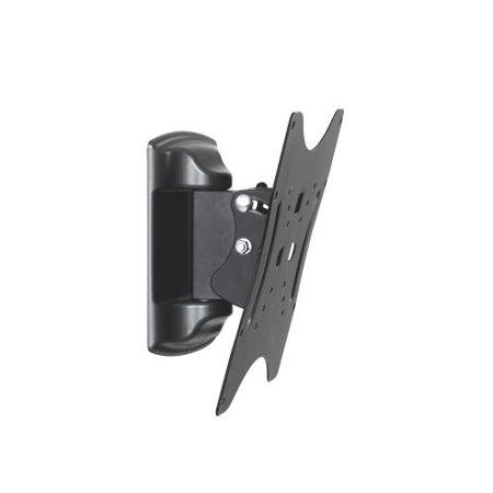 ATDEC TH-2250-VTP Telehook Flat Screen Tilt and Pan Fixed Wall Mount/22-50, Black
