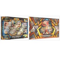 Pokemon Trading Card Game Mega Powers Collection Box and Charizard GX Premium Collection Box Bundle, 1 of Each