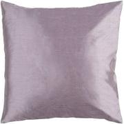 "18"" Lilac Purple Shiny Decorative Throw Pillow"